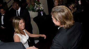 Fred And Angi - Brad Pitt and Jennifer Aniston Reunite At SAG Awards