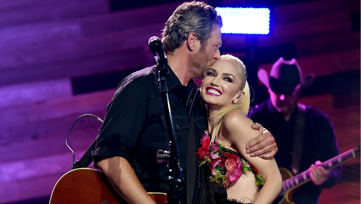 Blake Shelton, Gwen Stefani Get Close In Romantic 'Nobody But You' Video