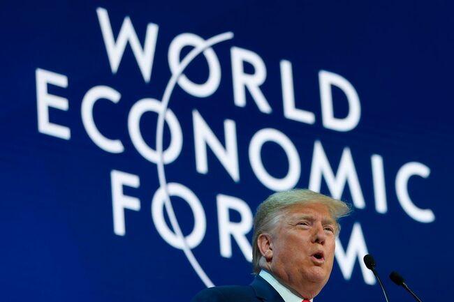 SWITZERLAND-US-ECONOMY-DAVOS-DIPLOMACY-WEF-POLITICS