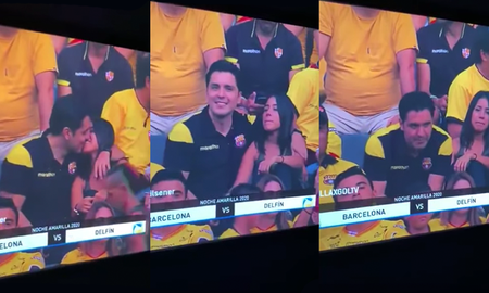 Entertainment News - Cheating Man At Soccer Game Gets Caught With Side Chick On TV