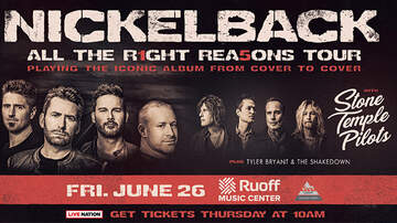 image for Nickelback  with Stone Temple Pilots, Tyler Bryant and The Shakedown