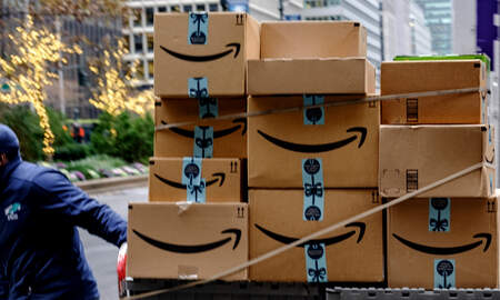 Trending - Rapper Gets Job At Amazon To Post His Mixtape Stickers On Packages