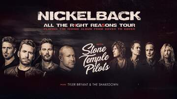 image for Nickleback - All The Right Reasons Tour