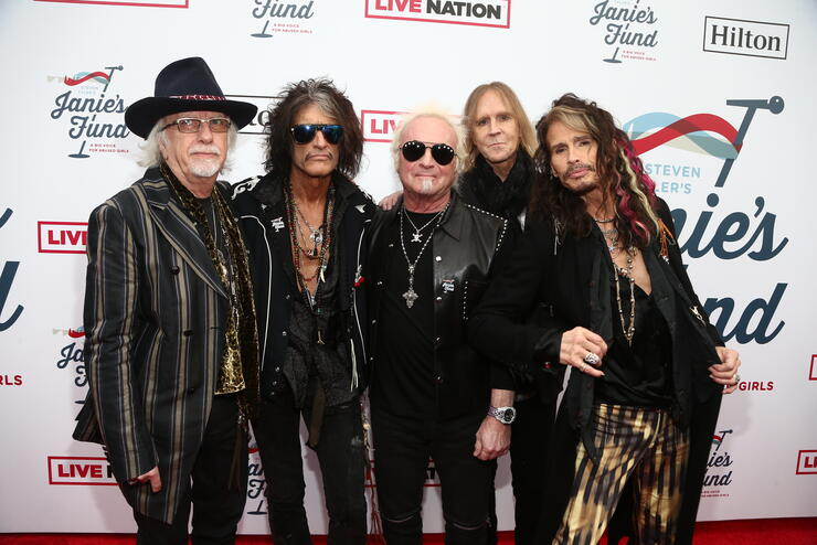 Steven Tyler's 2nd Annual GRAMMY Awards Viewing Party To Benefit Janie's Fund Presented By Live Nation - Red Carpet