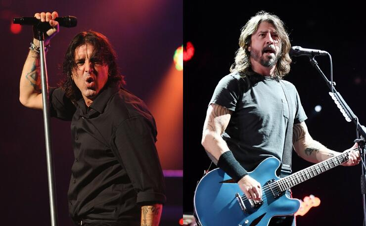 "Dave Grohl Names Creed's ""With Arms Wide Open"" One His Favorite Songs 