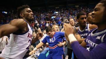 The A-Team - A Wild Brawl Broke Out Between Kansas And Kansas State Basketball Tonight