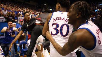Walton And Johnson - Watch - Thug Ball: Bench Clearing Brawl at Kansas vs Kansas State Game