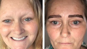 Weird, Odd and Bizarre News - Woman's Microblading Nightmare Goes Viral