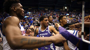 National News - Fists Fly In Final Seconds Of Kansas, Kansas State Rivalry Game