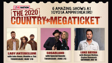 image for 2020 Country Megaticket At Toyota Amphitheatre