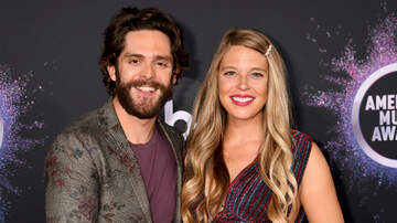 iHeartRadio Music News - Thomas Rhett's Wife Is Ready To Pop— Singer Jokes About Her 'Sanity'