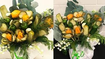 Suzette - Someone Made A 'Pickle Bouquet' For Valentine's Day & I Want This So Bad