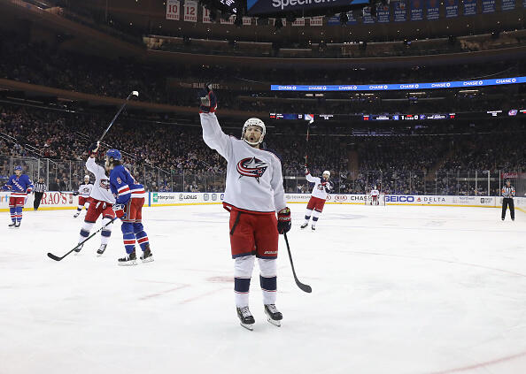 CBJ Heads Into All-Star Break With Come From Behind Victory Over Winnipeg