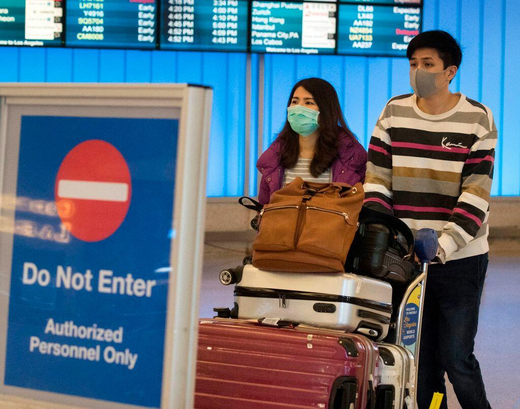 Passenger who arrived at LAX tested due to concerns about lethal coronavirus