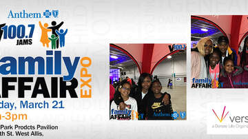 image for V100.7 Anthem Blue Cross Blue Shield Family Affair Expo