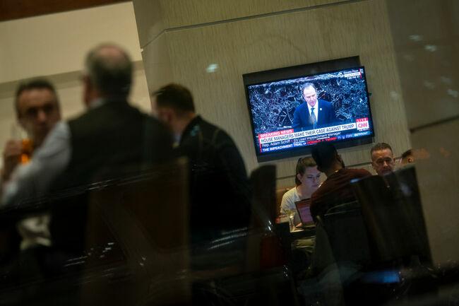Iowans Watch Senate Impeachment Trial Of President Donald Trump