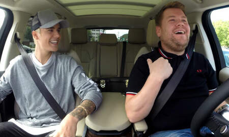 Entertainment News - James Corden Doesn't Drive During 'Carpool Karaoke' And Twitter Is Livid