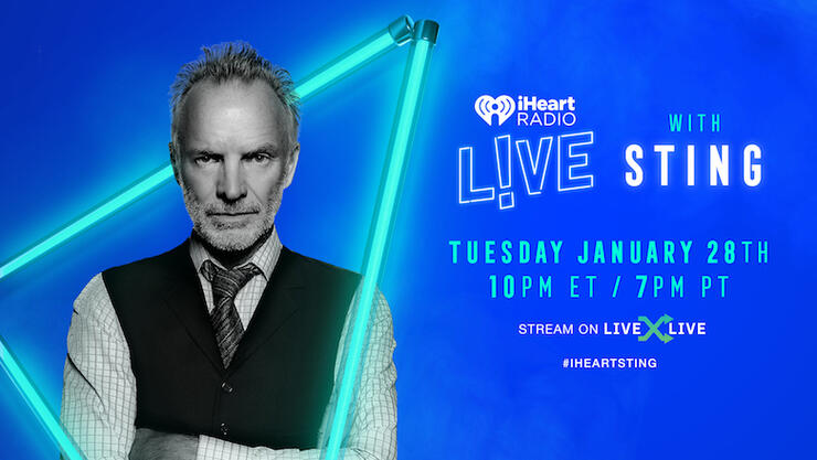 iHeartRadio LIVE with Sting