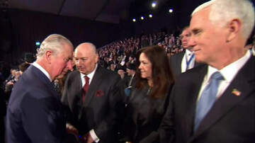 The Gunner Page - Prince Charles Snubs VP Pence At Auschwitz Memorial