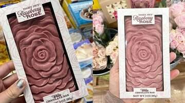 Tim Ben & Brooke - Trader Joe's Selling Raspberry Rose Chocolate Bar That Looks Like Art