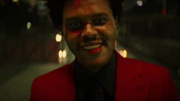 iHeartRadio Music News - The Weeknd Channels The Joker In Reckless Video For 'Blinding Lights'