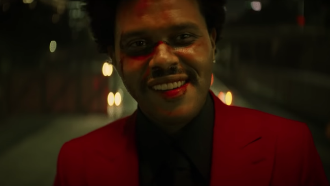 The Weeknd Channels The Joker In Reckless Video For 'Blinding Lights'
