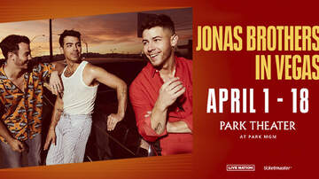 Buzzing Vegas - Jonas Brothers at Park Theater at Park MGM