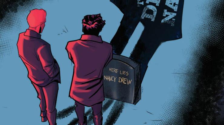 New Nancy Drew Comic Celebrates Sleuth's 90th Birthday By Killing Her Off   iHeartRadio