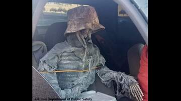 Coast to Coast AM with George Noory - Driver in Arizona Busted Using Carpool Lane with Skeleton Passenger