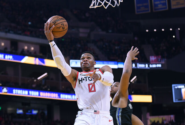 Westbrook Scores 45 as Rockets Beat T-Wolves 131-124