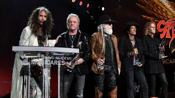 iHeartRadio Music News - Joey Kramer Joins Aerosmith Onstage At MusiCares Honors, Does Not Perform