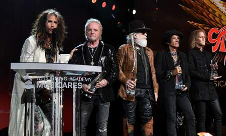Rock News - Joey Kramer Joins Aerosmith Onstage At MusiCares Honors, Does Not Perform