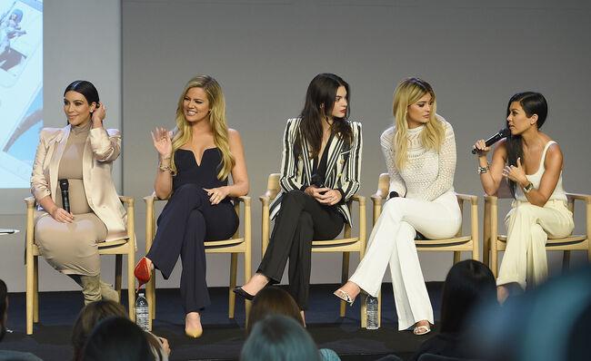 Apple Store Soho Presents Meet The Developers: Kim Kardashian, Kourtney Kardashian, Khloe Kardashian, Kendall Jenner & Kylie Jenner