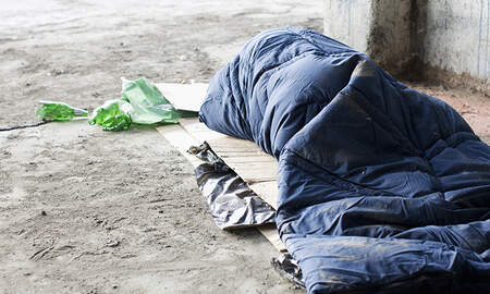 National News - Homeless Woman Sleeping In Front Of Garage Dies After Being Run Over