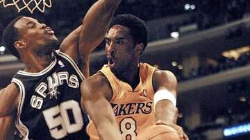 SPURSWATCH - David Robinson remembers Kobe Bryant