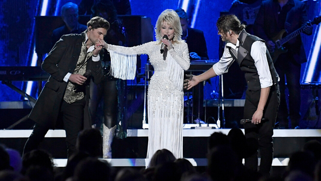 Dolly Parton, For King & Country Take Home Grammy For 'God Only Knows'