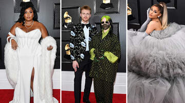 Entertainment News - 2020 Grammys Red Carpet: Lizzo, Billie Eilish & More