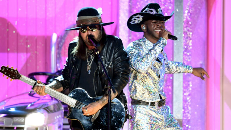 Lil Nas X's Grammys Performance Featured Nas, BTS, Diplo, And More