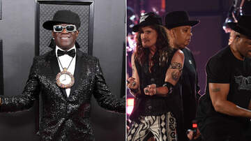 iHeartRadio Music News - Flavor Flav Was Aerosmith & Run-DMC's Biggest Fan At The 2020 Grammys