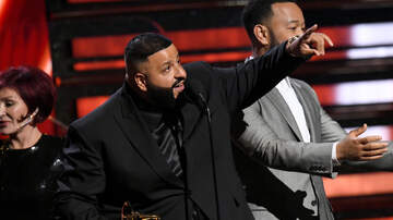 Trending - DJ Khaled Reveals Second Son's Name During Grammys Acceptance Speech