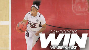 Sports Update - Gamecock Women Overwhelm Georgia in Athens