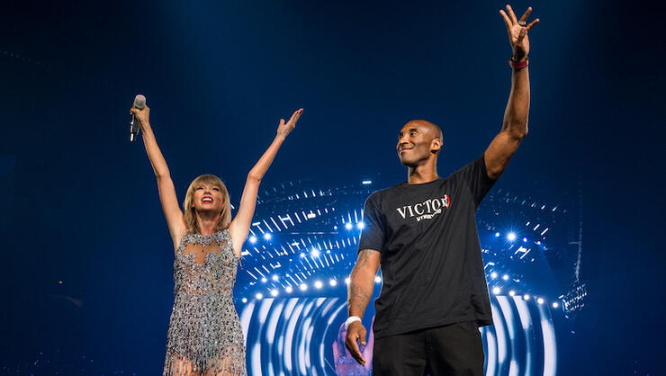 Taylor Swift Pens Touching Note In Light Of Friend Kobe Bryant's Death | iHeartRadio