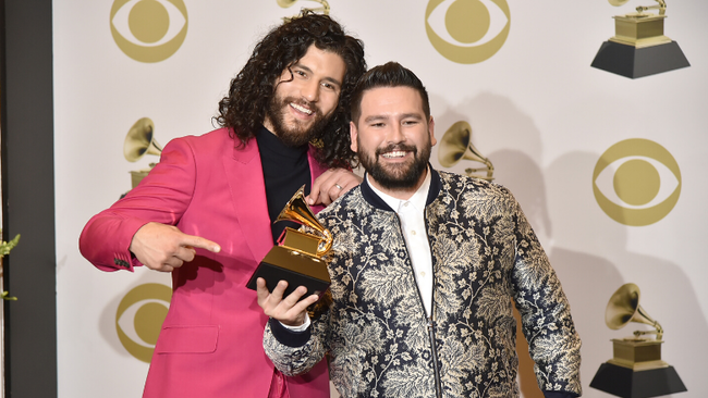 Dan + Shay Win Best Country Duo/Group Performance At 2020 Grammy Awards