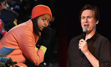 Weird News - Comedian Accidentally Curses At Malia Obama For Whispering During His Set