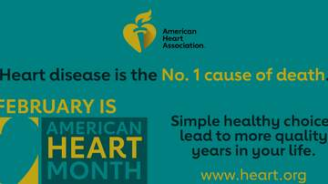 image for February is Heart Month!