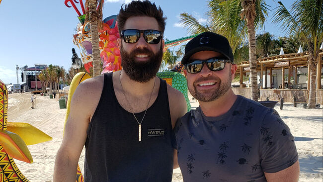 Watch Uninvited Guests 'Crash' Jordan Davis + Cody Alan's Beach Interview