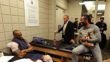 image for Arizona Cardinals Larry Fitzgerald Gives Emotional Tribute To Kobe Bryant