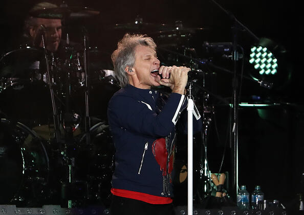 "Bon Jovi Debuts New Track ""Limitless | Christie James | iHeart80s @ 103.7"
