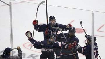 image for UConn Hockey falls 3-2 to Quinnipiac at CT Ice