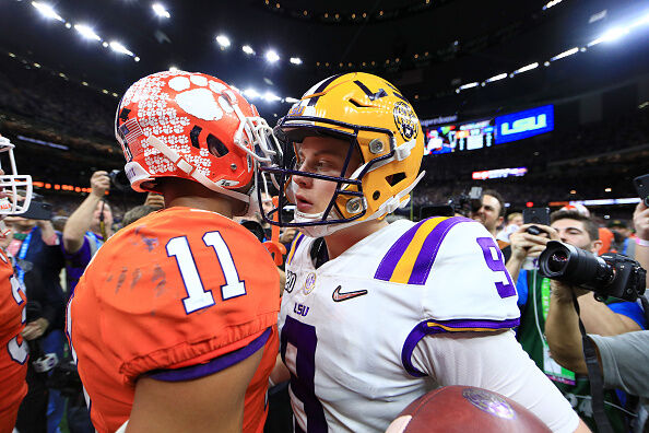 Getty Images - College Football Playoff National Championship - Clemson v LSU